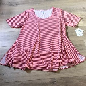 LuLaRoe Stripe Perfect T